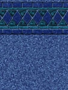 Blue Lancashire Pool Liner