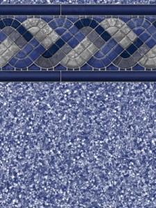 Grey Raleigh Pool Liner