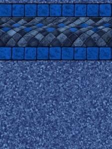 Miramar Blue Pool Liner