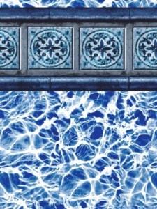 Santiago Slate Pool Liner