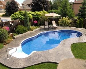 Inground pool win the neighbourhood