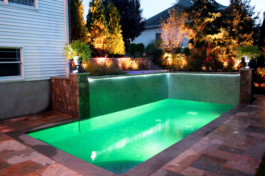 11 beautiful pools for small yards - Buds Spas & Pools on tiny ponds, tiny swimming pools, tiny spa pools, tiny fireplaces,
