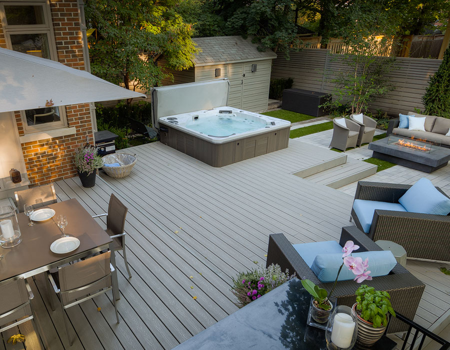 15 stunning ways to incorporate a hot tub into your backyard