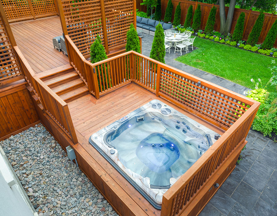 15 Stunning Hot Tub Landscaping Ideas Buds Pools