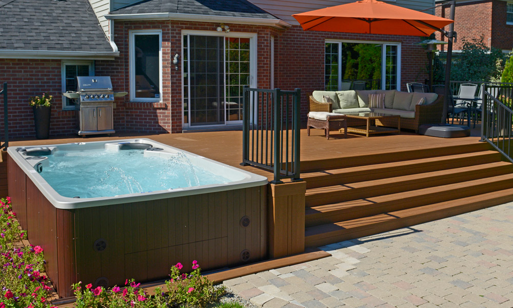 Above ground swimpool deck colour
