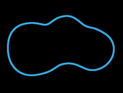 Lagoon shaped