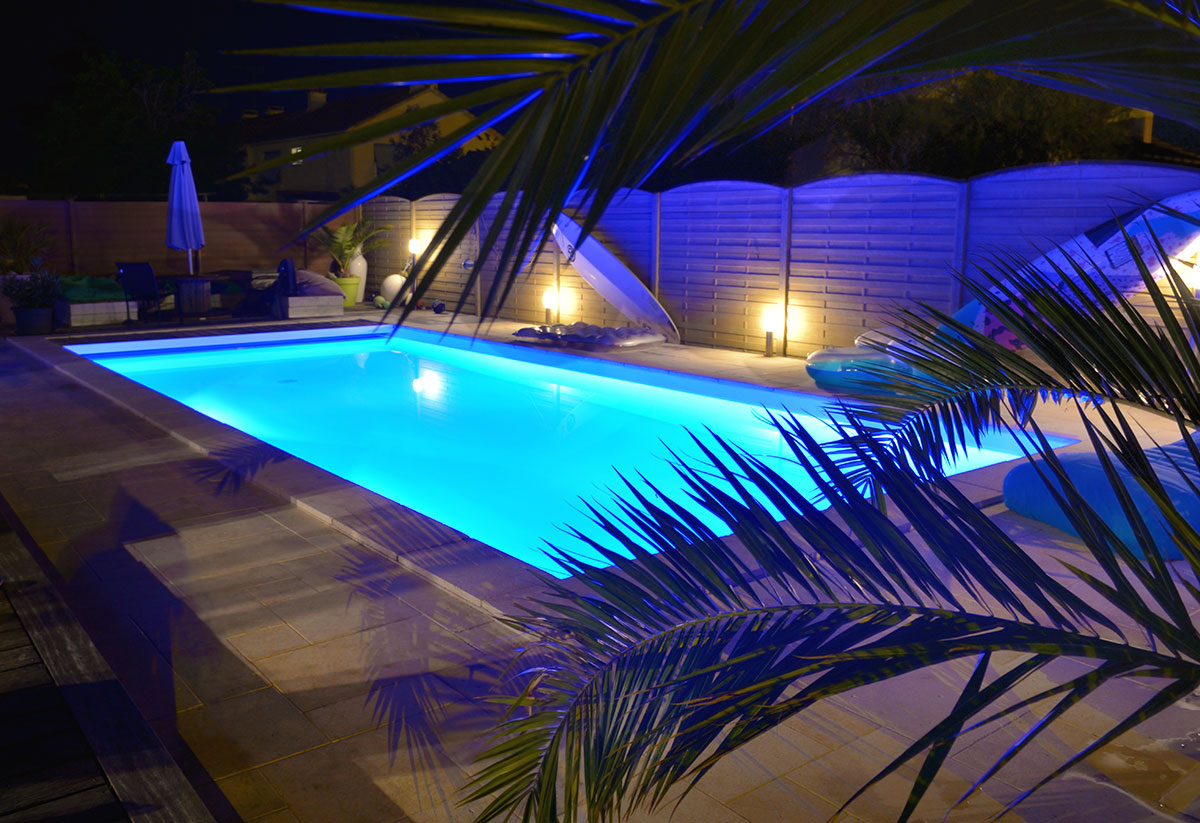 How do I decorate around my pool?