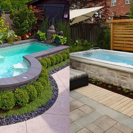 Swimpool vs. Small pool costs